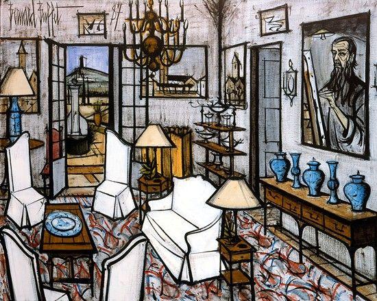 Les 102 meilleures images du tableau bernard buffet sur for Buffet peintre