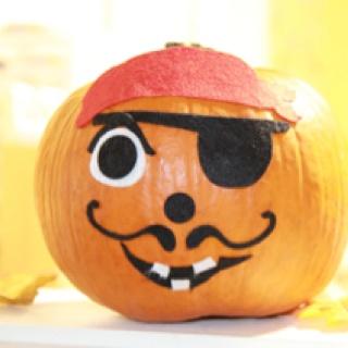 17 Best Images About Pirate Pumpkin On Pinterest Pumpkin