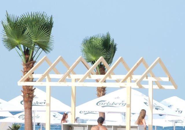 artificial palm trees, beaches, luxury development - supply and installation RobertoRossi.ro