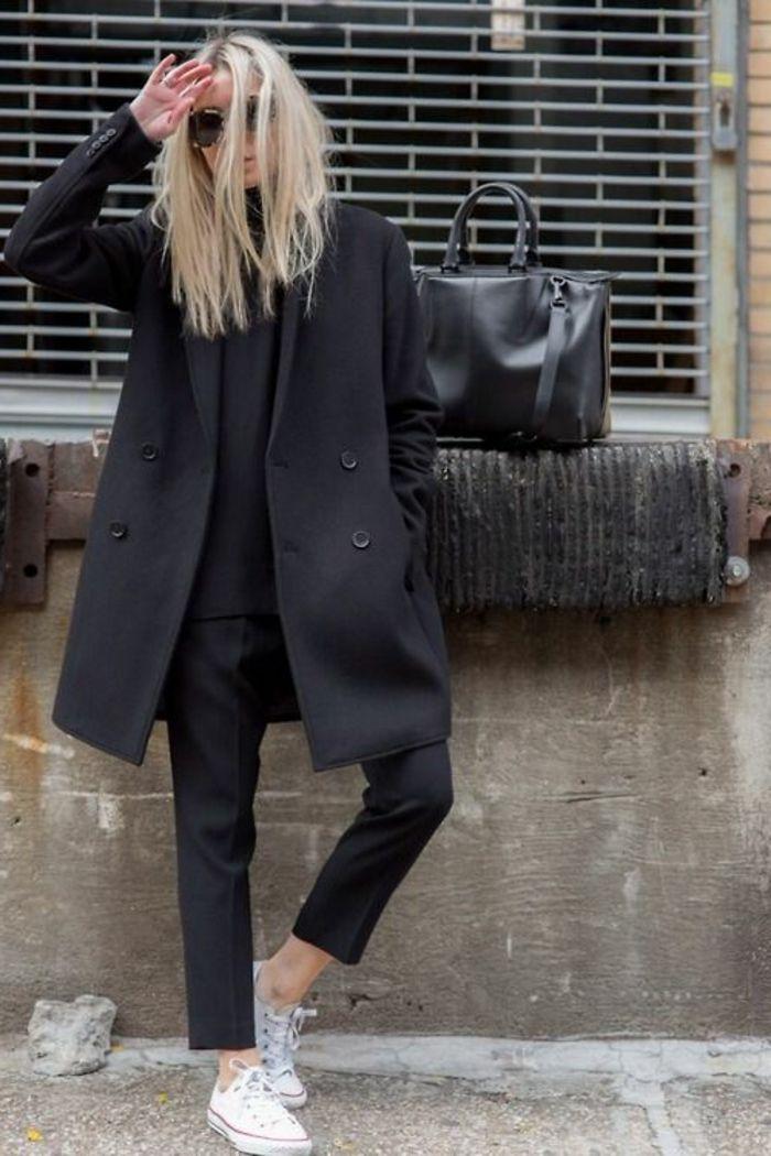Schwarzer Mantel – klassisch oder extravagant? – Archzine.net