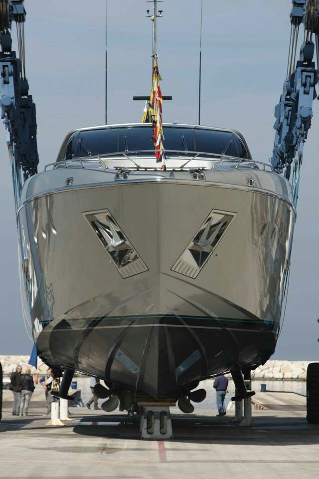 Riva 122ft Yacht. There largest to date.... Lady Loves Luxury, Via ♕LadyLuxury♕