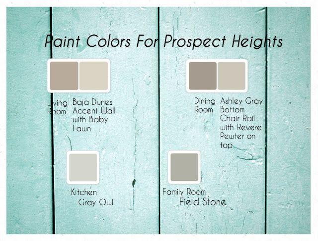 17 meilleures images à propos de Color pallets sur Pinterest