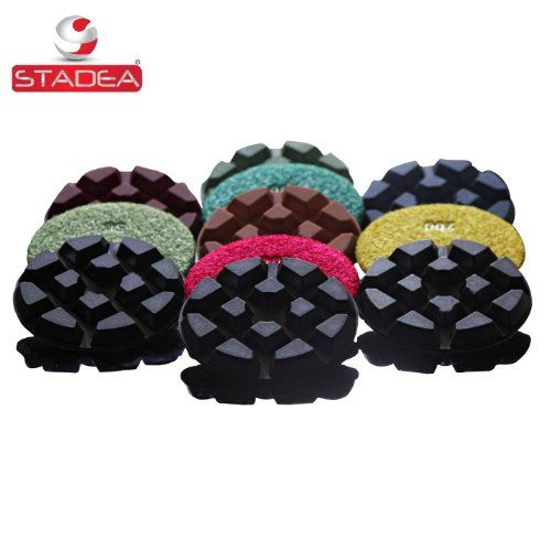 diamond floor polishing pads for floor concrete marble polishing  Set of 7 pads by Stadea ** Want to know more, click on the image.