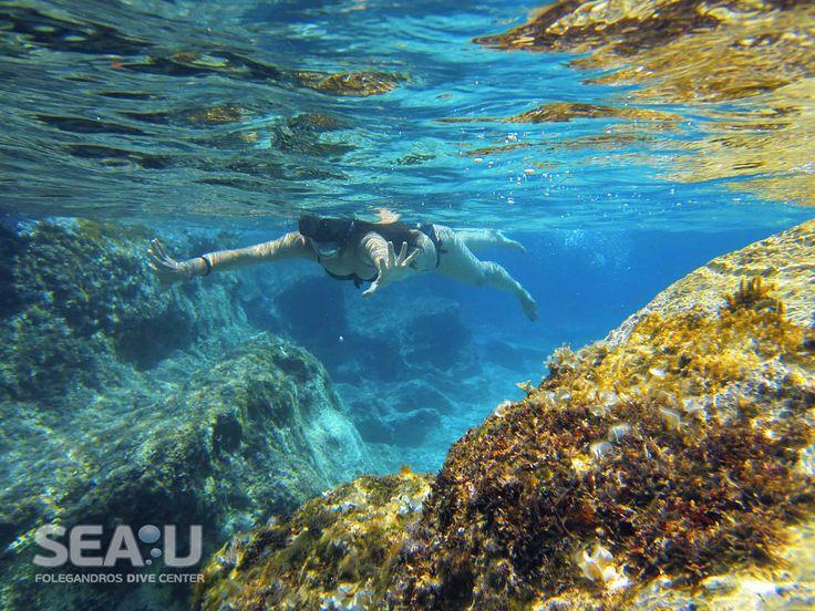 Sea-U Folegandros Dive Center - Snorkeling
