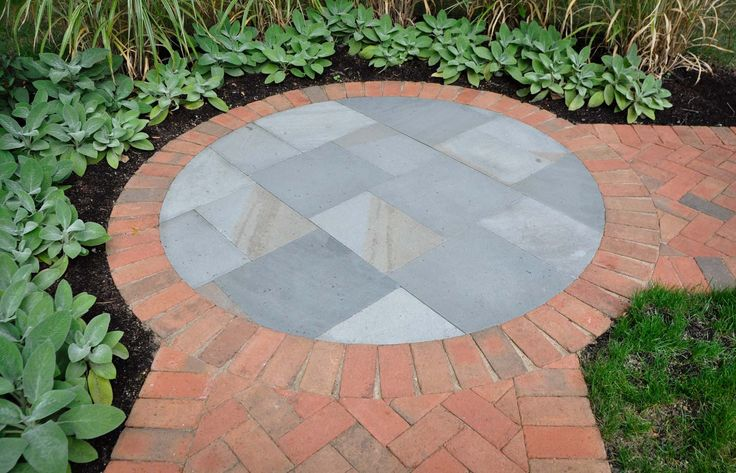 McCullough's Landscape & Nursery - cool transition at chance of direction, mimic fire pit shape...