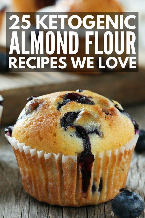 25 recetas de harina de almendra de ceto dignas de babear   Buscando postres bajos en carbohidratos y br …
