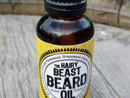 The Hairy Beast Beard Oil - Lets face it - your beard has been doing its job of making you look ruggedly handsome and manly. Now it's time to return the favour and give your beard some loving.