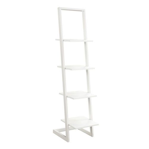 4 Tier Ladder Bookshelf