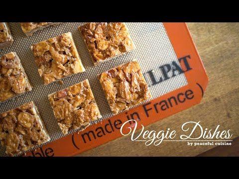 キャラメル風味がおいしいサクサクのフロランタンの作り方:How to make Florentins  | Veggie Dishes by P...