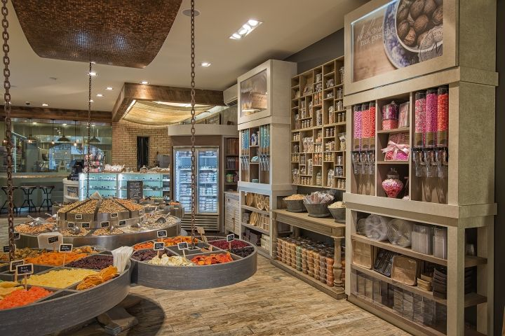 Retail Design Blog — The Nuttery by ImageCoDesign, New York City
