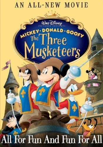 Disney Film Project Podcast - Episode 109 - Mickey, Donald, Goofy: The Three Musketeers