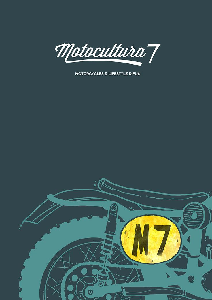Vintage Scrambler M7 Motocultura7