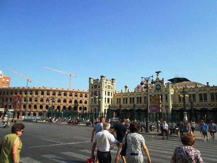 Valencia, gara si arena de coride