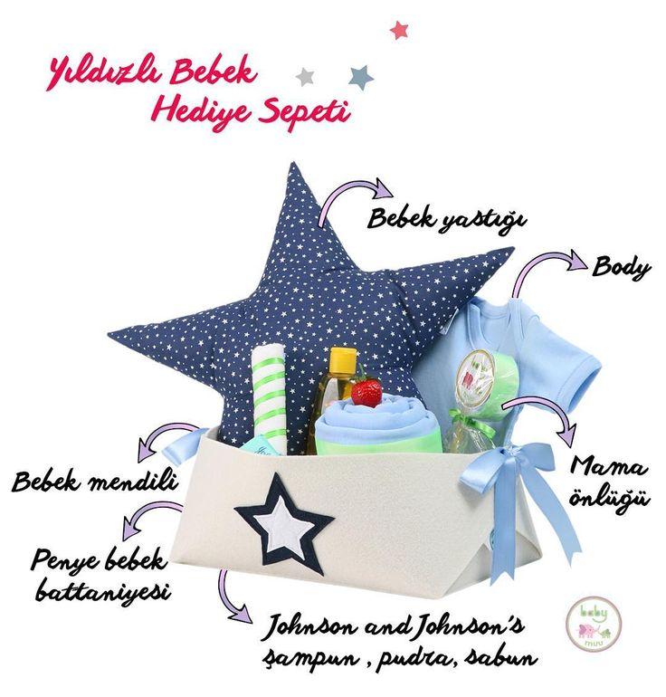 Baby Muu'dan herkese mutlu haftalar! Yıldızlı Bebek Hediye Sepeti ile sevdiklerinizi mutlu etmenin tam zamanı. Sorularınız ve siparişleriniz için bize DM'den ulaşabilirsiniz.#babymuu #tasarım #design #handmade #handmade #bezpasta #diapercake #baby #yenidoğan #newborn #cute #gift #star #hediye #bebek #pillow #bebekmevlüdü #bebekbattaniyesi #hediyesepeti