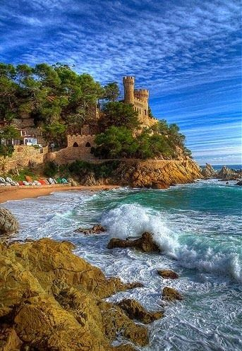 Amazing Snaps: Lloret de Mar, Costa Brava, Spain -- A popular budget holiday destination on the Costa Brava, the former fishing village of Lloret de Mar offers an appealing climate, great scenery and wealth of competitive accommodations. http://www.amazingsnapz.com/2013/11/lloret-de-mar-costa-brava-spain.html#sthash.L2wqr3nE.dpuf