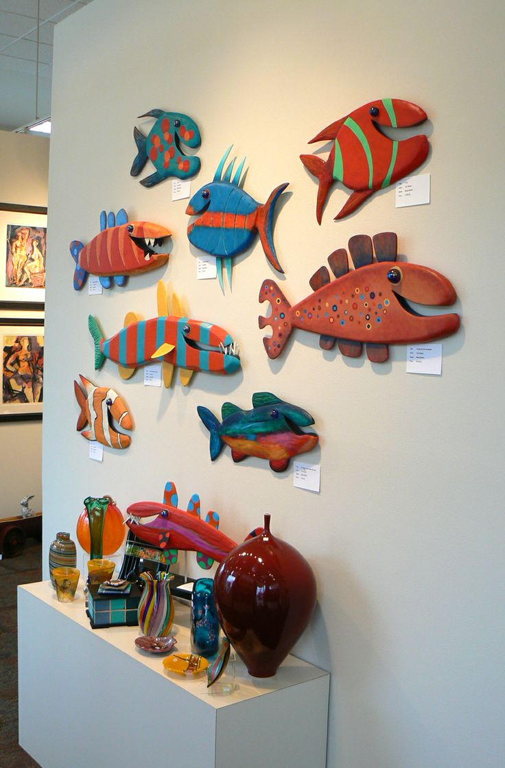 """Our """" Tom Beech"""" wall at Gallery Night 2013"""
