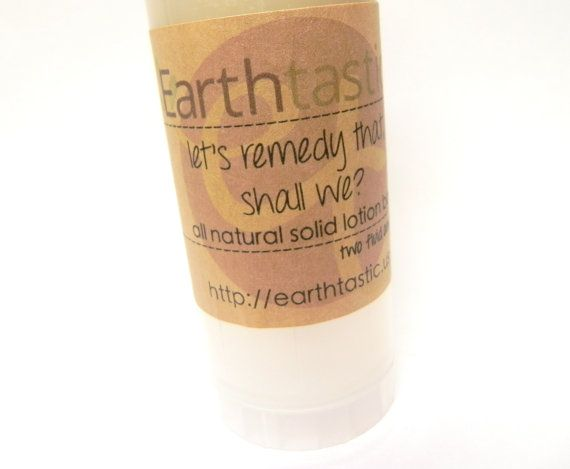Solid+Lotion+Emu+Oil+Remedy+Bar+by+earthtastic+on+Etsy,+
