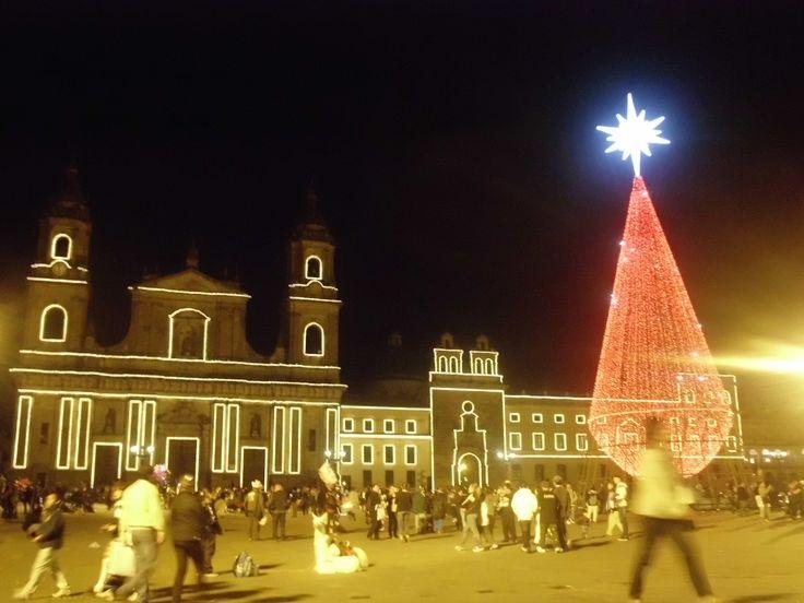 Iluminación Plaza de Bolivar