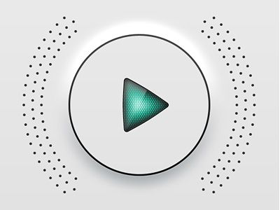 Play button for radio app / #elements / Manufactura