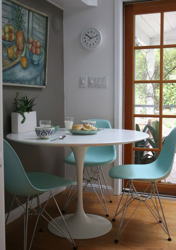 Eiffel Chair Wood Legs How To Build A Adirondack Best 25+ Tulip Table Ideas On Pinterest   Mid Century Modern Dining Room, Round ...