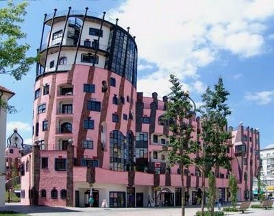 Hundertwasserhaus, Magdeburg, Germany