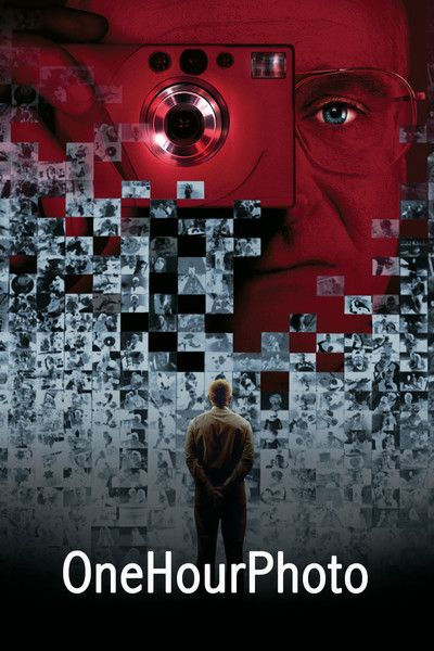 One Hour Photo (2002) R - Director: Mark Romanek - Writer: Mark Romanek - Stars: Robin Williams, Connie Nielsen, Michael Vartan - An employee of a one-hour photo lab becomes obsessed with a young suburban family. - DRAMA / HORROR / THRILLER