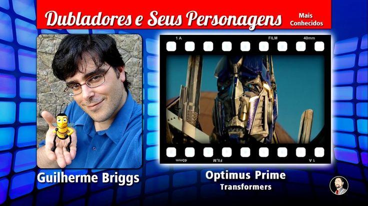 Guilherme Briggs - Dubladores e Seus Personagens