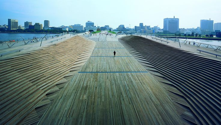Yokohama International Port Terminal, Yokohama, Japan | Farshid Moussavi