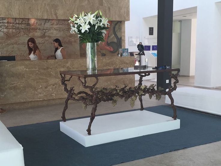 Paula Swinne exhibition, in Patmos Aktis Suites & Spa. Until the 8th of September! #sculptures