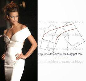 Moldes Moda por Medida: DETALHE DE MODELAÇÃO - 20