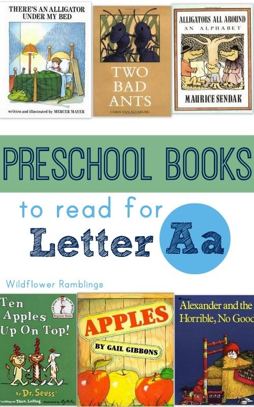 best books for the letter a - Wildflower Ramblings