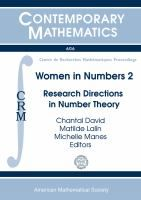 C David, M Lalin and M Manes (eds.), Women in Numbers 2: Research Directions in Number Theory