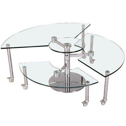 Chintaly Imports 8160 CT B T Cocktail Table . $662.82