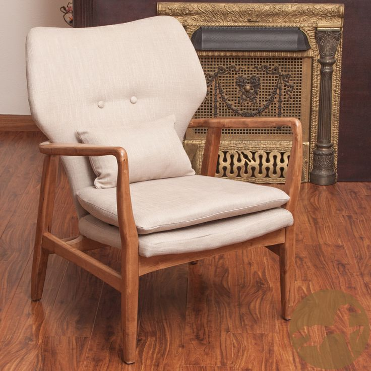 Best Deals On Living Room Furniture: Christopher Knight Home Haddie Wood Frame Club Chair
