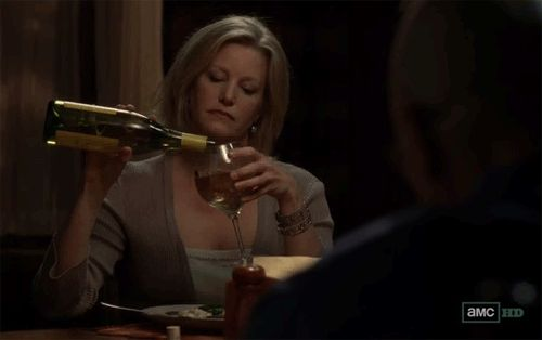 You think to yourself, Maybe just a half a glass more .   25 Signs You Drink Too Much Wine