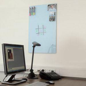 Tableau magnétique en verre bleu pâle (2 tailles) Chat-Board