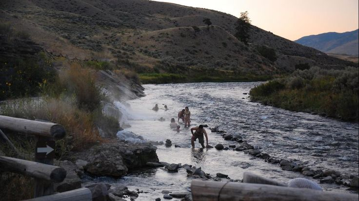 Montana- Boiling River near Yellowstone and Gardner River  Best Swimming Spot in Every State (PHOTOS) - weather.com