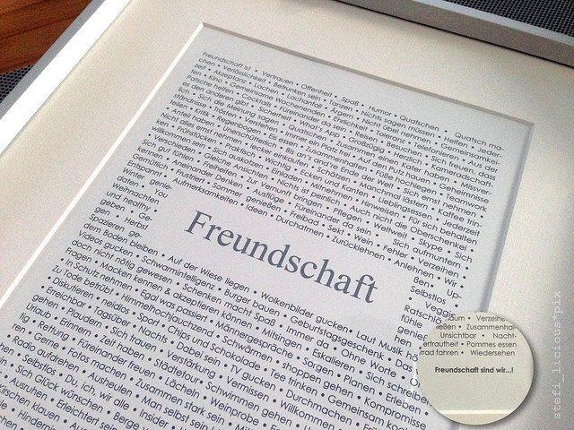 freundschaft by stefi_licious :), via Flickr