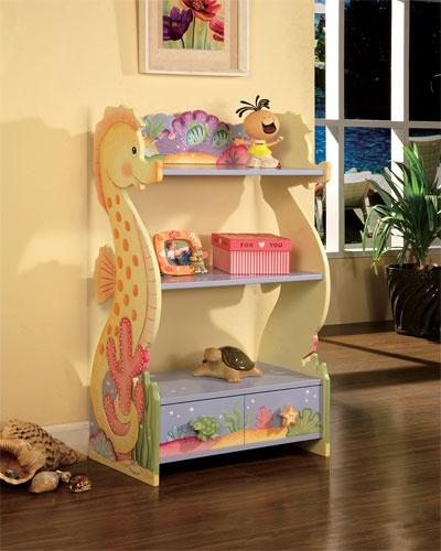 Teamson Kids Under The Sea Book Shelf