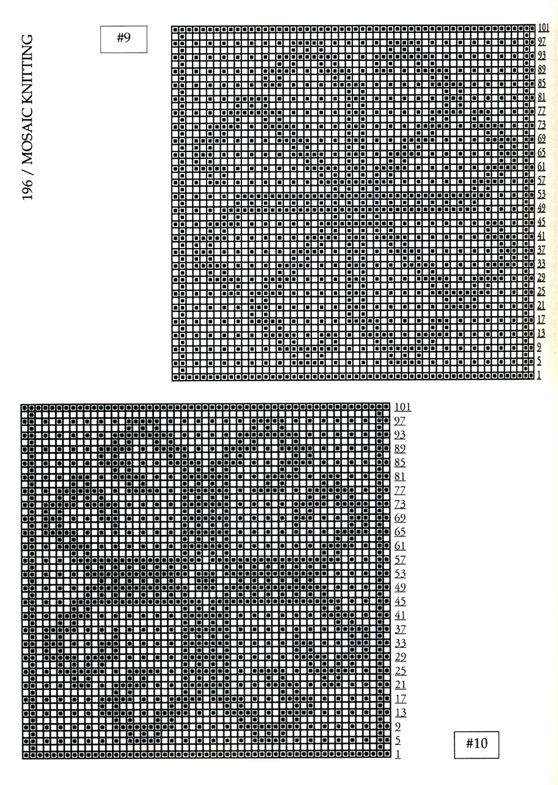 Mosaic Knitting Barbara G. Walker (Lenivii gakkard) Mosaic Knitting Barbara G. Walker (Lenivii gakkard) #201