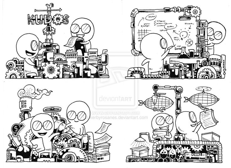 1000 Images About Doodle Invasion