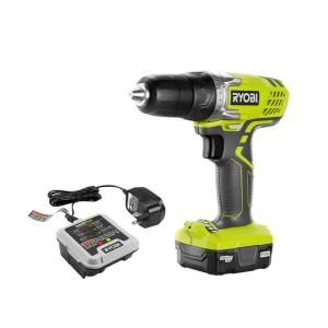 Ryobi, 12-Volt Cordless Lithium-Ion Drill/Driver Kit, HJP004 at The Home Depot - Mobile