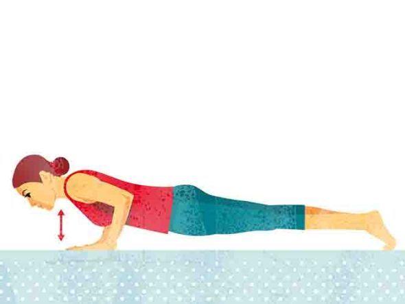 """Übungen zum Lockern:  Mittlerer Rücken  Elegant gekrümmt  Als Brustwirbelsäule (BWS) wird im Medizinlexikon der Abschnitt zwischen Hals- und Lendenwirbelsäule bezeichnet. Sie besteht aus zwölf Wirbeln und ist beim Rückengesunden wie ein flach geschwungenes """"S"""" geformt. Schwachpunkt des mittleren Rückens sind neben seiner Muskulatur vor allem die Wirbel und ihre gelenkigen Verbindungen. Gerät da etwas aus der Balance, entstehen dumpfe Schmerzen – Orthopäden nennen das """"BWS-Syndrom""""."""