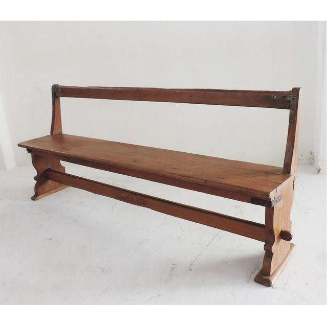 colonial india school bench