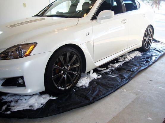 Garage Floor Snow Mats Autofloor Flooring Ideas Floor Design