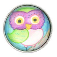 Bright Eyed Owl Glass Nugz