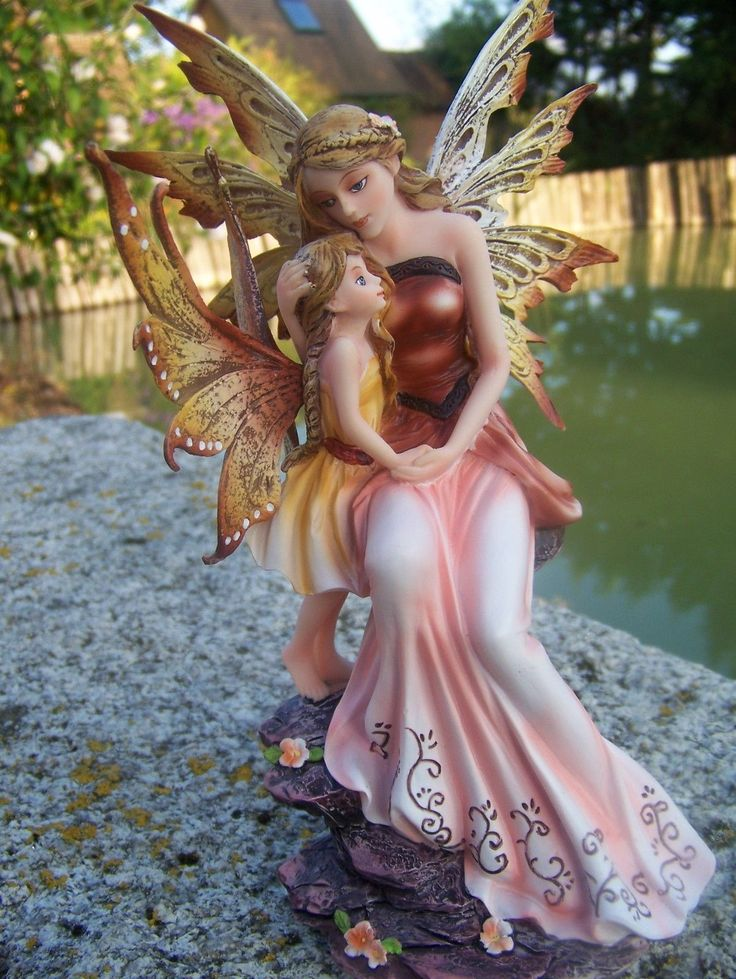 Favori 391 best Fairy Collectibles images on Pinterest | Fairy figurines  EW62