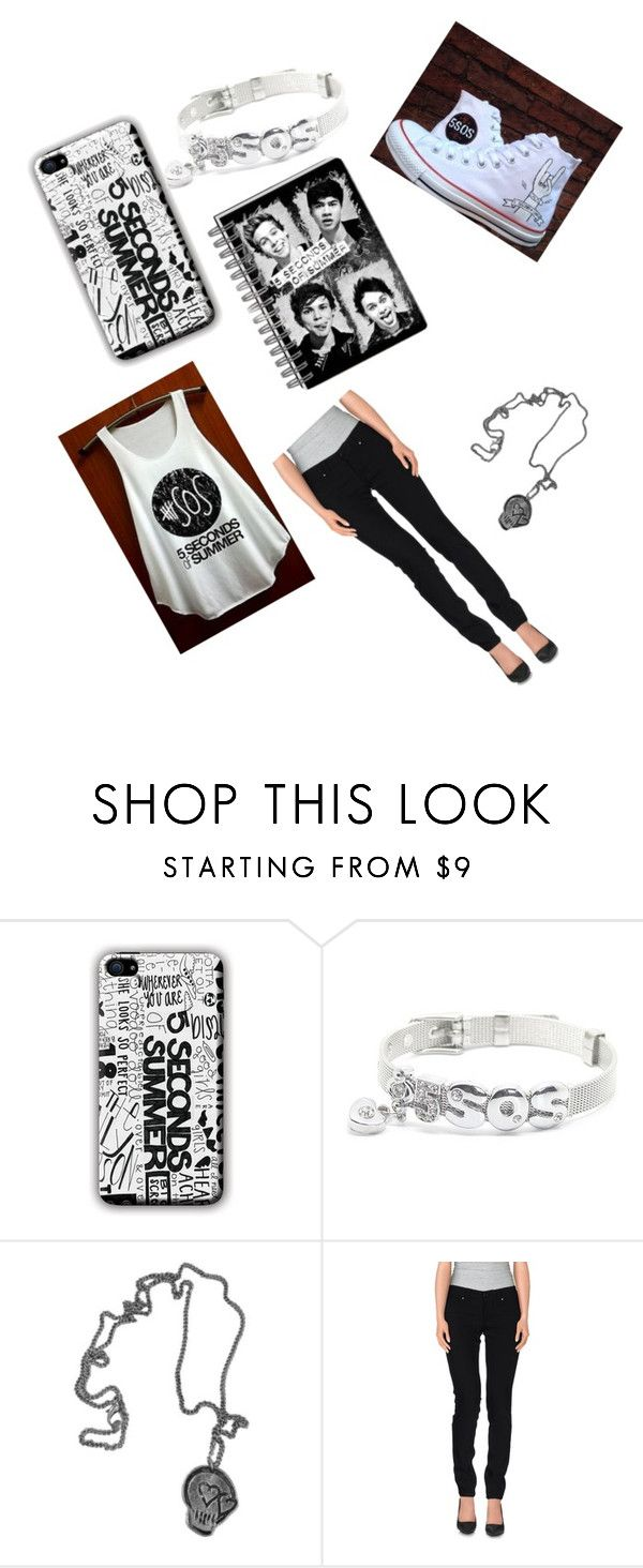 """""""5 sos"""" by eabharosew ❤ liked on Polyvore featuring Converse and S.O.S By Orza Studio"""