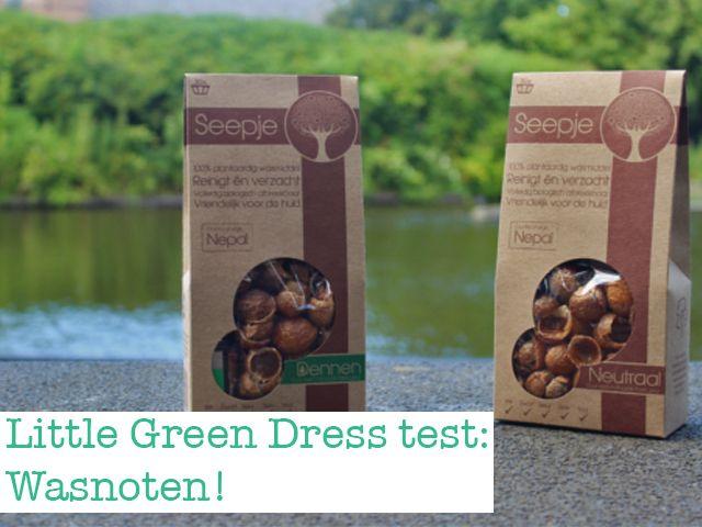 Little Green Dress test: Wasnoten! Een natuurlijk wasmiddel dat lief is voor je kleding en het milieu.
