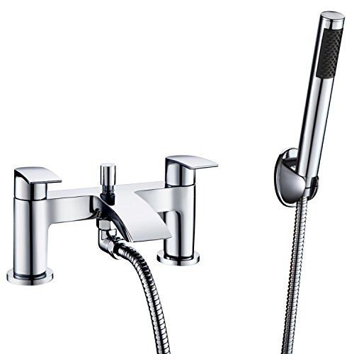 Hapilife [Bath Shower Tap] Hapilife Bathroom Watefall Double Handle Mixer Monobloc Tap with Handheld Shower H No description (Barcode EAN = 0700443073776). http://www.comparestoreprices.co.uk/december-2016-6/hapilife-[bath-shower-tap]-hapilife-bathroom-watefall-double-handle-mixer-monobloc-tap-with-handheld-shower-h.asp